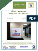 Grupos Cooperativos. LA ENTIDAD DE CABECERA (Es) Cooperative Groups. THE CENTRAL BODY (Es) Kooperatiben Taldeak. GOI MAILAKO ERAKUNDEA (Es)