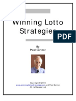 Winning Lotto Strategies Pdf18 2006