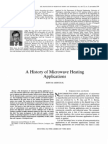 Artigo - A History of Microwave Heating Applications