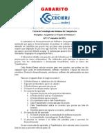 AP2_Arquitetura e Projetos de Sistemas I_2011-1_Gabarito