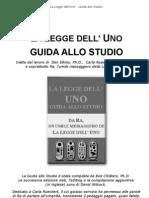 La Legge Dell'Uno - GUIDA ALLO STUDIO (Nuova Traduzione)