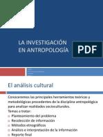 Investigacion Antropológica