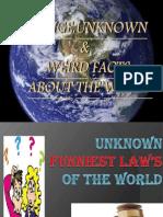Strange Facts Abt d World