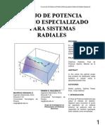 Flujo de potencia óptimo para sistemas radiales