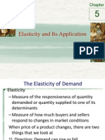 Chapter 5 - Elasticity and Its Application