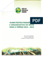 Plano Poltico Pedaggico e Organizativo Da Recid Trin 1