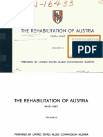 Austria Rehabilitation Plan III (1945)