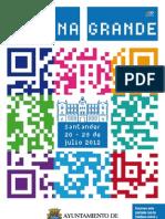 Programa de Fiestas de Santander 2012