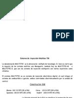 Sistema de  Inyección Multitec 700 TBI EFI