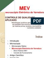 Apresentação - MEV