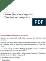 2-Volume Elasticity of Aquifers
