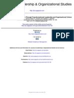 Lid Trasnformacional y Clima de Innovacion 2009