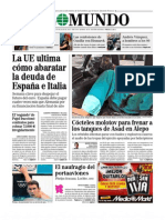 """Diario """"El Mundo"""" (29 de julio de 2012)"""