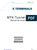 Manual Mt x Tunnel