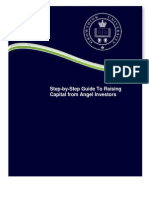Step-By-Step Guide to Raising Capital From Angel Investors