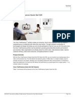 Cisco C20 Product Brief