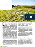 Ensilaje, una alternativa para la ganadería en Colombia