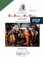 Vésperas II de S. Pedro e S. Paulo