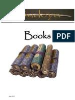 Budoya Catalogue Books