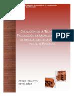 Evolucion Tecnologica de Ladrillos de Arcilla