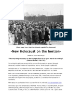 New Holocaust on the Horizon