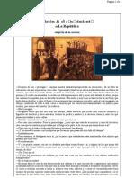 Platon & el Conocimiento de la República