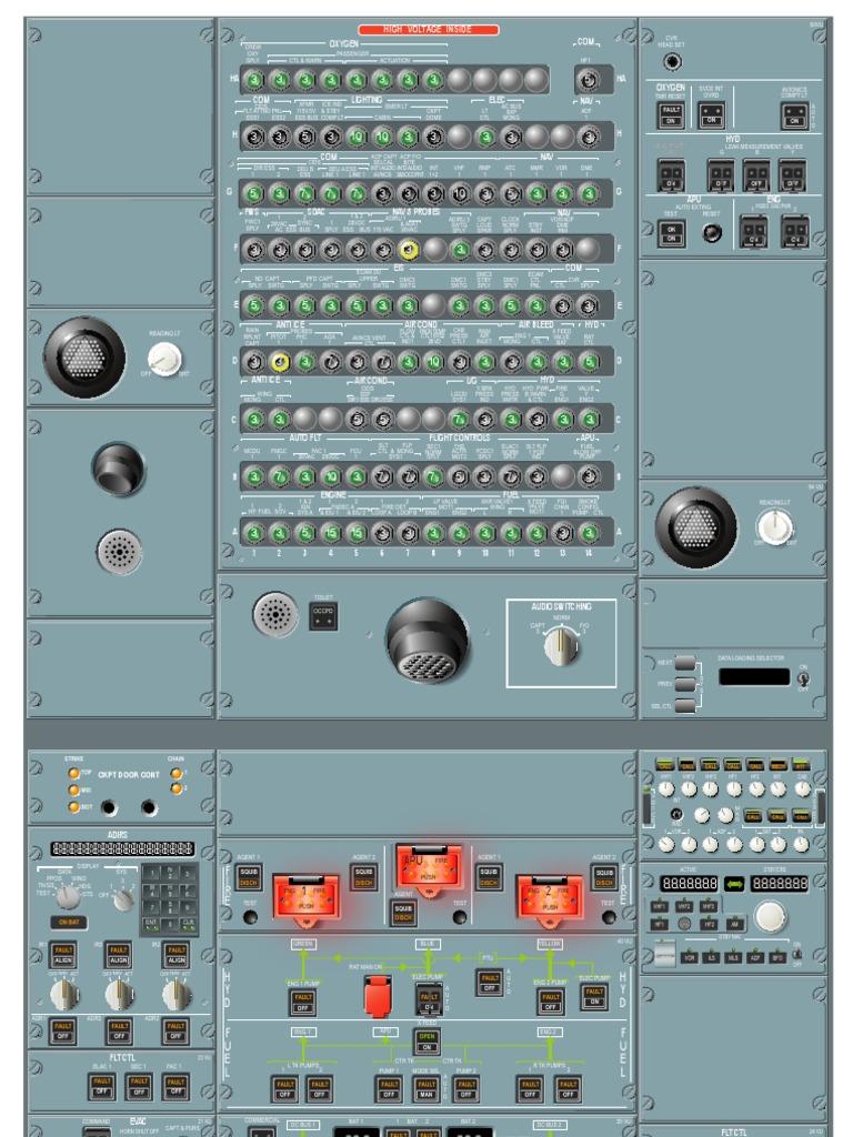 A320 Overhead Panel | Spaceflight Technologies | Aerospace