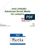 Beyond LinkedIn Advanced Social Media for Law