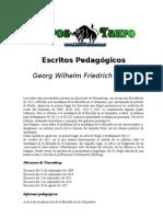 G.W. Hegel - Escritos Pedagogicos