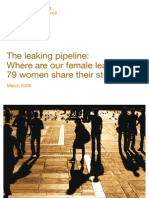 Leaking Pipeline Women Leaderhip