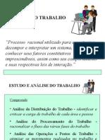 Análise do Trabalho e QDT