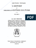 Leo Wiener 1917 - History of Arabico-Gothic Culture (Vol. 1 OCR)