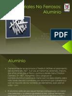 Materiales No Ferrosos Aluminio
