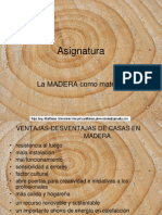 Asignatura La Madera Como Material