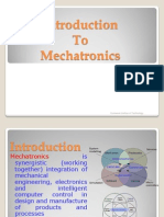 Introduction to Mechatronics Lecture#1