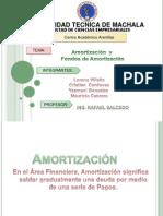 diapositivas amortizacion y  fondos