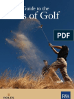 Quick Guide Golf