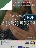 I Curso de Lengua de Signos para profesionales de los servicios de emergencia y seguridad