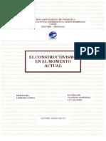 El Constructivismo en El Momento Actual