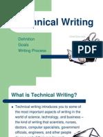 Tech Writ Def Goals Process