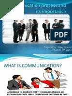 Communication process and its importance