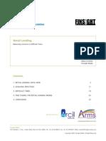 Retail Lending Report