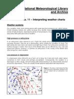 No. 11 - Weather Charts