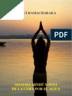 Sistema Hindu Yogui de La Cura Por El Agua - Yogui Ramachakara