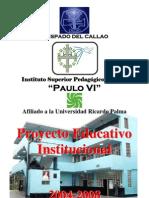 PROYECTO EDUCATIVO INSTITUCIONAL PAULO VI