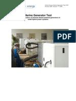 Generator Testing