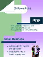4.05 PowerPoint