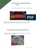 Ducato - Zerar painel