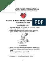 Manual Practico de RCP 2010