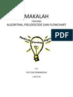 Algoritma, Pseudocode Dan Flowchart